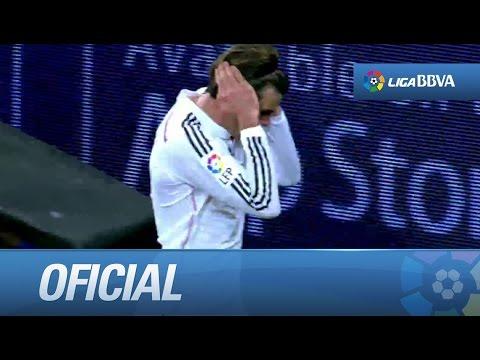 Gol de Bale tras la chilena de Cristiano (1-0) en el Real Madrid - Levante UD