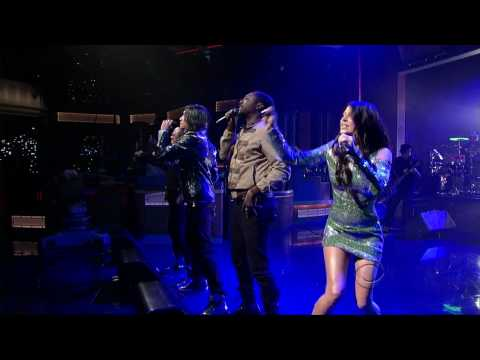 The Black Eyed Peas - I Gotta Feeling ( Live @ Late Show ) [HD]