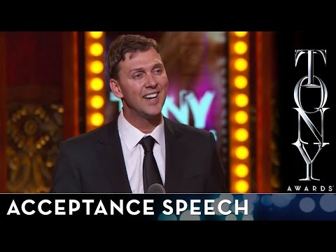 2014 Tony Awards: Acceptance Speech - Warren Carlyle