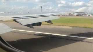 BA 747 - London to Chicago - Heathrow Takeoff