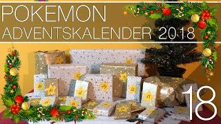 Pokemon Adventskalender 2018 18. Tür [Deutsch/German]