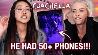 we caught a coachella phone THIEF (storytime w video)
