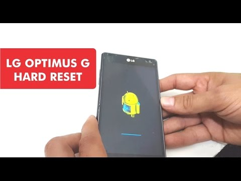 LG OPTIMUS G PRO E970 - Hard Reset o Borrado General