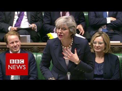 Theresa May on Boris Johnson: FFS - BBC News