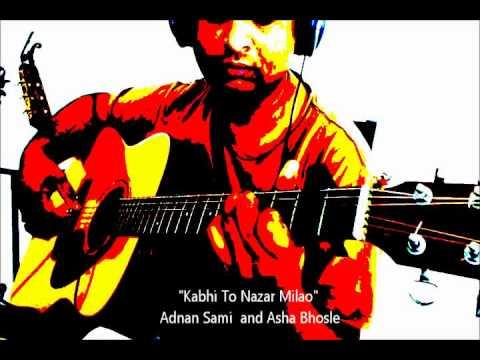 kabhi To Nazar Milao Adnan Sami & Asha Bhosle Guitar Solo