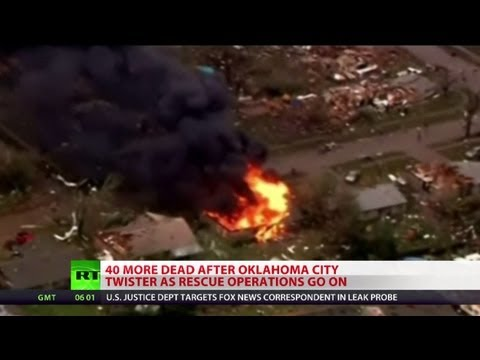 Dozens dead after massive Oklahoma tornado