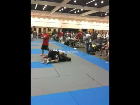 Jeff Monson grappling at the MMA Expo Image 1
