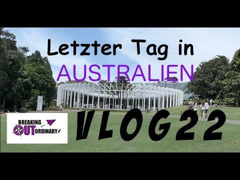 Vlog #22 ⎮ Letzter Tag in Australien ⎮ Sydney/Australien