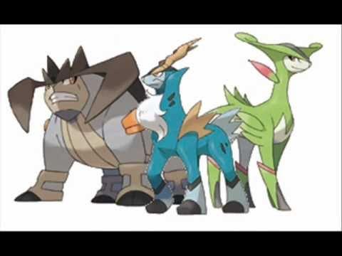 Pokemon Black and White - Unova Legendary Battle Remix ...