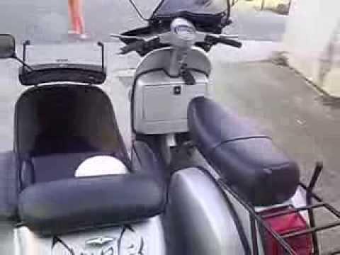 MOTO SCOOTER VESPA SIDECAR PX 200cc