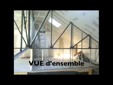 r novation b timent grange en v ritable loft youtube. Black Bedroom Furniture Sets. Home Design Ideas