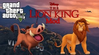 GTA 5 - The Lion King Mod