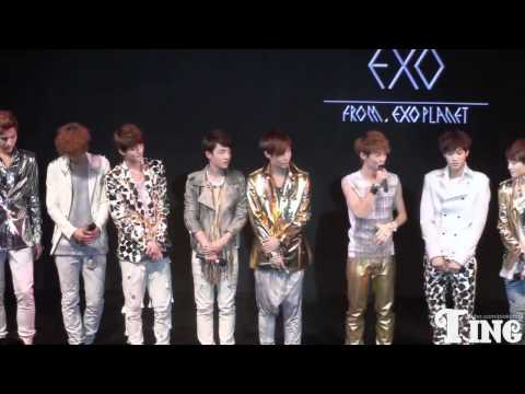[FANCAM] 120401 - EXO Showcase Talk (Luhan 1)