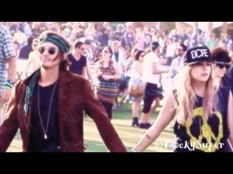 ►Tyler Blackburn & Ashley Benson || Coachella 2013