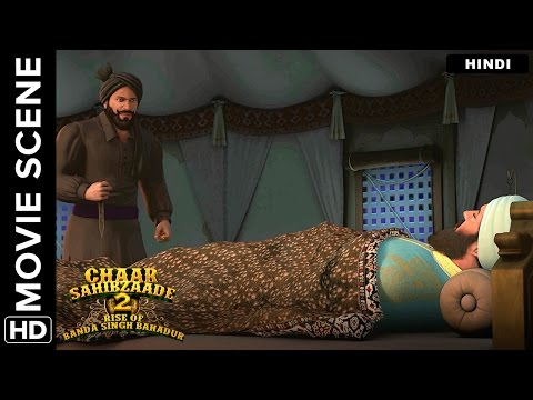 Guru Gobind Singhji Attacked By The Enemies | Chaar Sahibzaade 2 Hindi Movie | Movie Scene