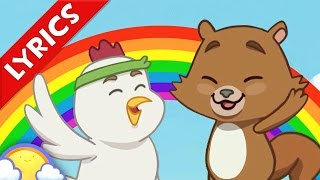 The Colors Song with Lyrics | Farmyard Colors Song for Kids | CheeriToons