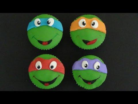 ninja turtles cupcakes