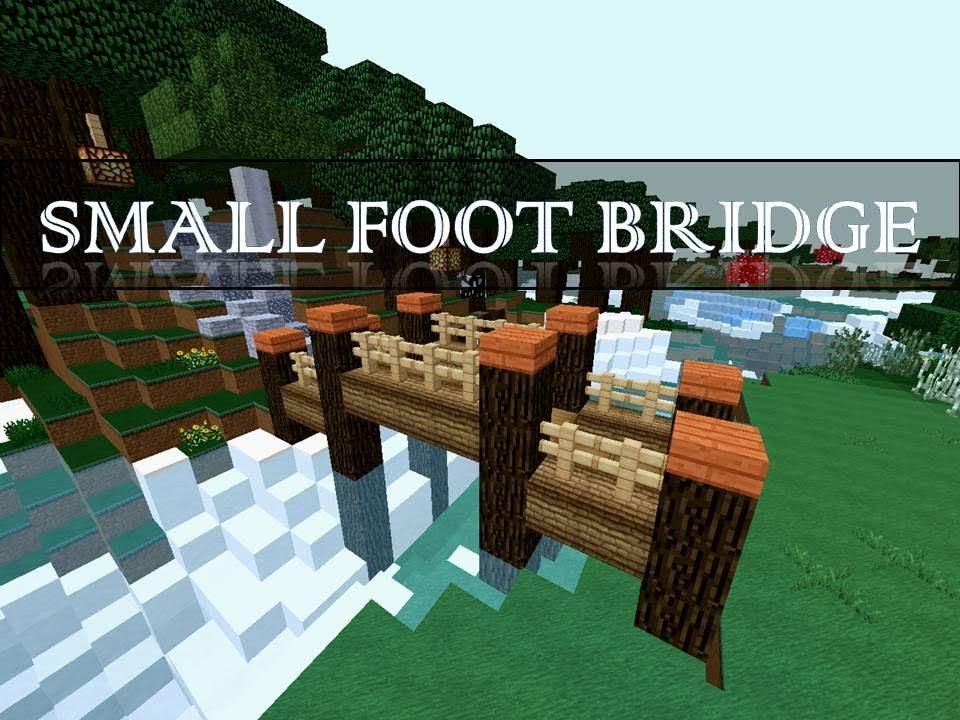 Small bridge let 39 s build minecraft youtube