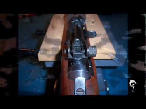 FrogLube. teardown. reasembly of M1 carbine