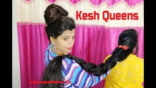 Long Hair Election Live Varsha Vs Ritika / Double Rapunzel / Two Best Rapunzels
