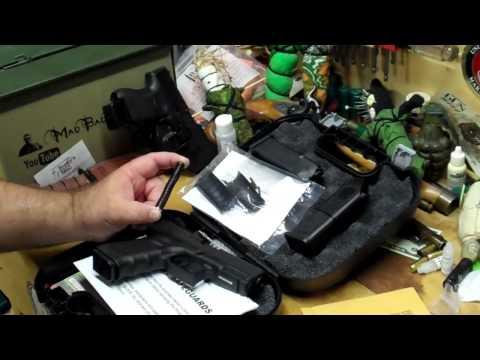 Glock 23 Gen 4 Unboxing