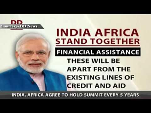 Third India-Africa Forum Summit Concludes
