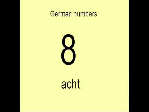 Learn German # 13a - German Numbers 0 - 12