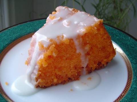 Orange Pound Cake With Orange Juice