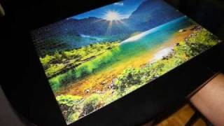 Puzzle 1000 pieces time lapse by sony nex-5