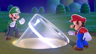 Super Mario 3D World Co-Op (2 Player) Walkthrough - World 1