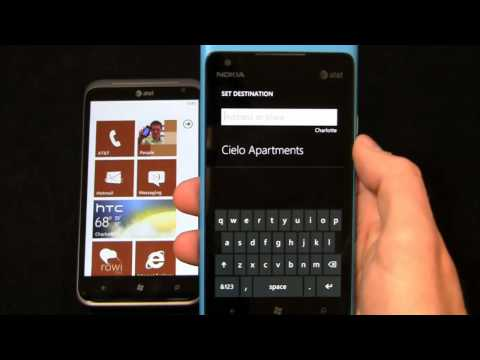 HTC Titan II vs. Nokia Lumia 900 Dogfight Part 1