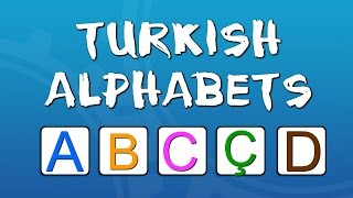 Türkçe Alfabesi | Learning Turkish Alphabet | 30 Dakika ABC Alfabe ŞARKISI