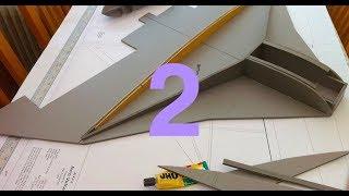 Part 2 - EDF Version Depron Avro Vulcan 1100mm wingspan