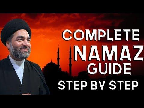Complete Step By Step Namaz Guide   Maulana Syed Ali Raza Rizvi