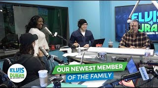 Meet the Newest Member of Our Family | Elvis Duran Exclusive