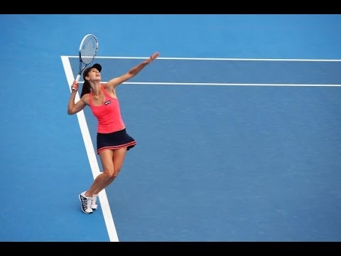 2014 Apia International Sydney Semifinal WTA Highlights