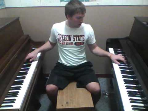 Double Piano Cover of Billionaire