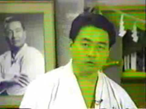 kancho matsui , kyokushin karate instructional video 3-4 Image 1