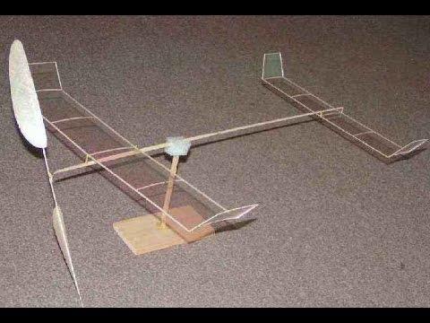 Как сделать микро самолетик