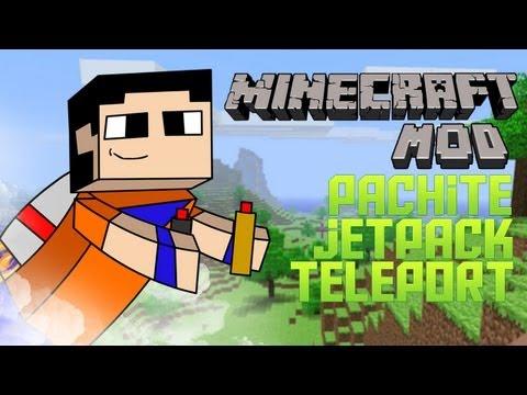 Minecraft de PC: Review Parachute. JetPack y Teleport MOD para version 1.3.2!!