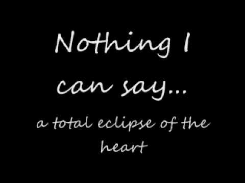 Total Eclipse Of The Heart - Glee (Lyrics)
