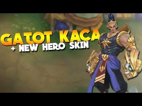 Gatot Kaca First Hero Look! Mobile Legends New Hero Update!