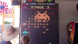 Space Invaders Frenzy Sit Down Arcade Machine - Coney Island 2018, June