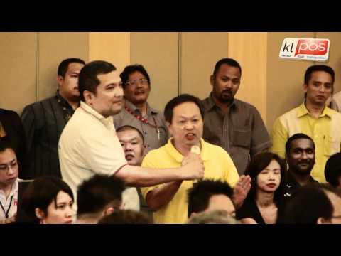 Debat KJ Dan Ambiga - Kalau Barisan Nasional Kalah Adakah Malaysia Aman? 26/4/2012