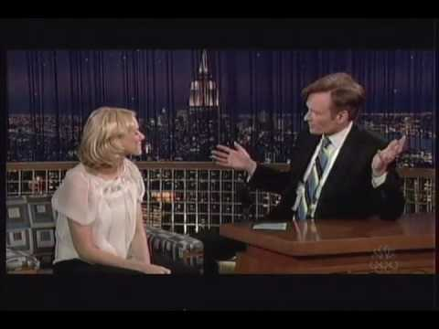 Naomi Watts on The Late Night with Conan O'Brien on NBC (November 30, 2005)