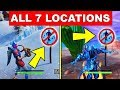 Lagu Dance in Different Forbidden Locations – ALL 7 LOCATIONS WEEK 1 CHALLENGES FORTNITE SEASON 7