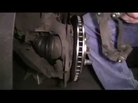 Front Brakes and Rotors on a 2004 Toyota Sienna LE