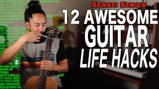 Awesome Guitar Life Hacks