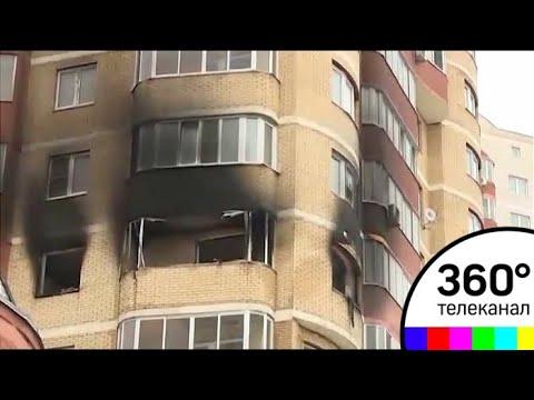 В Красногорске при пожаре в жилом доме погибли два человека