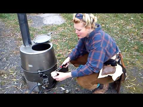 H45 Army issue Multi-fuel Tent Heater Part 2 of 3  S.J.Fiscus
